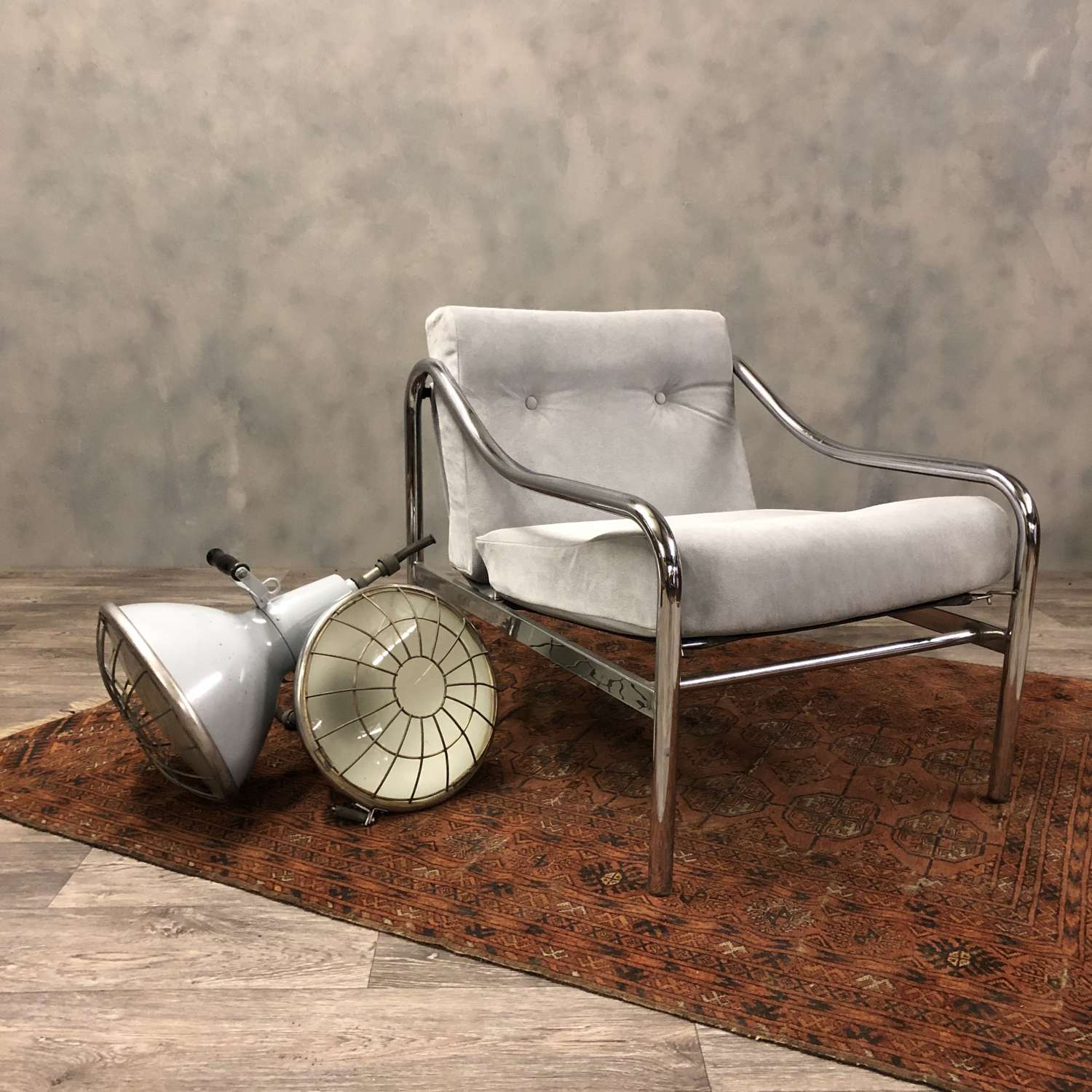 Midcentury Pieff Beta lounge chair