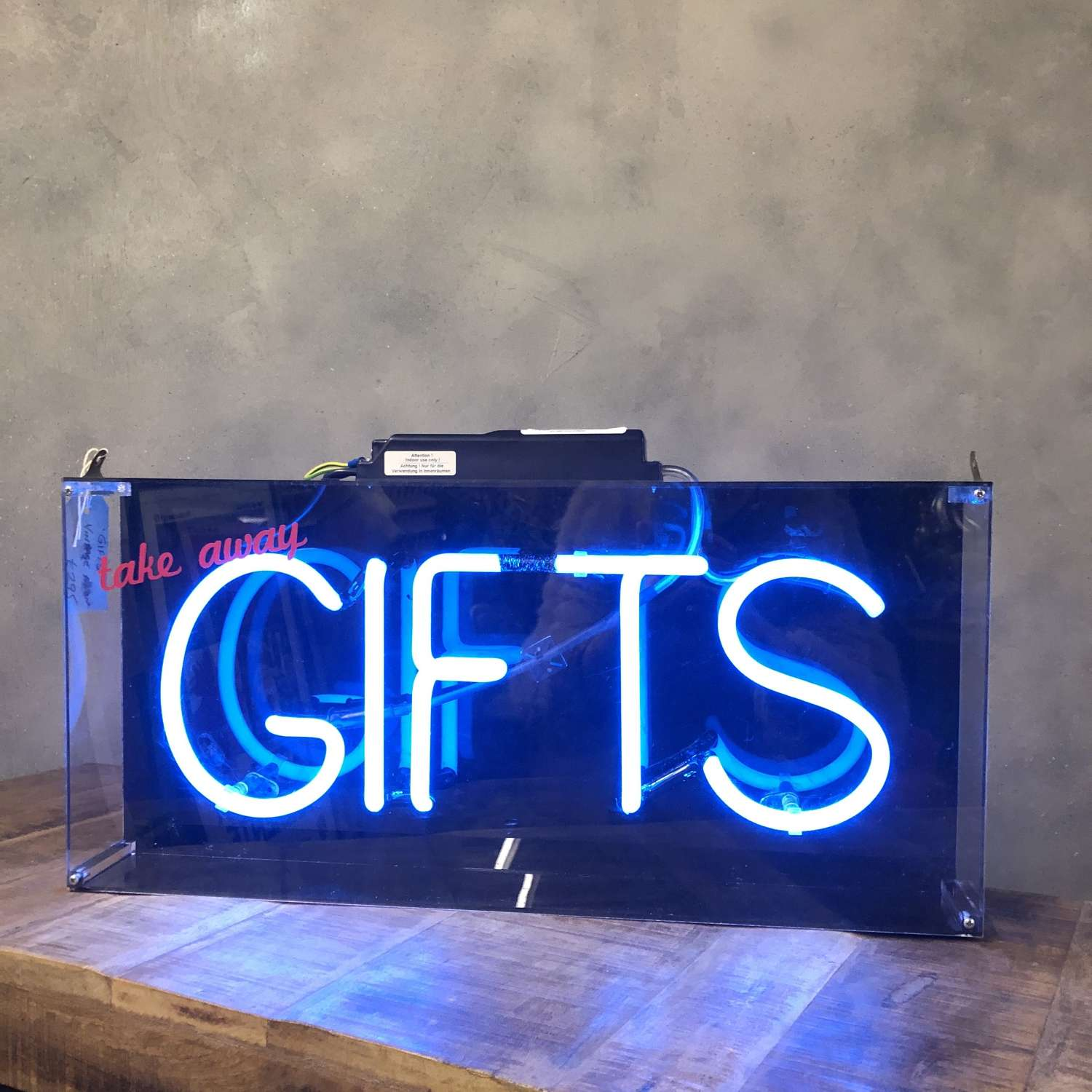 Neon 'Gifts' vintage