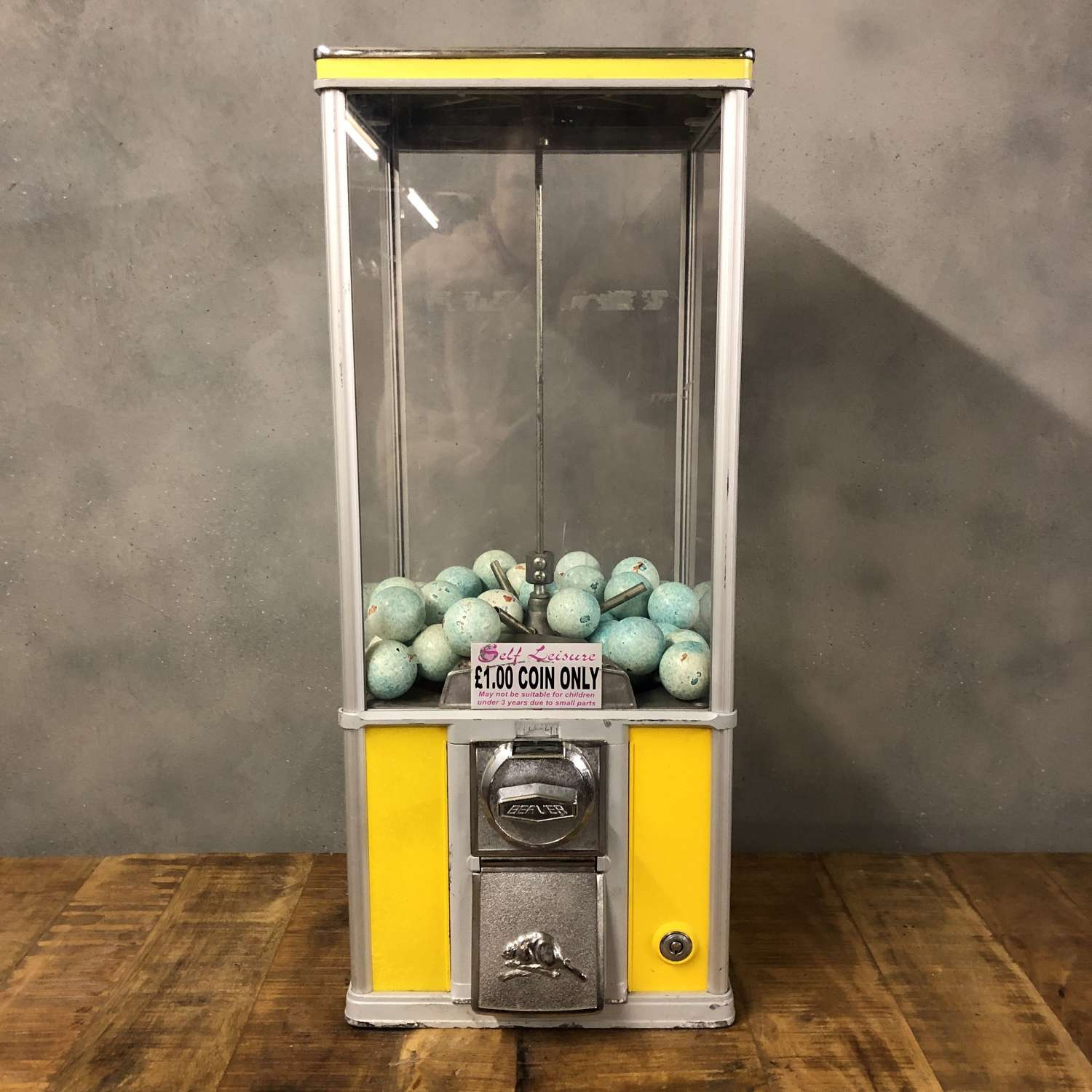 Vintage Gum Ball machine by Northern Beaver.