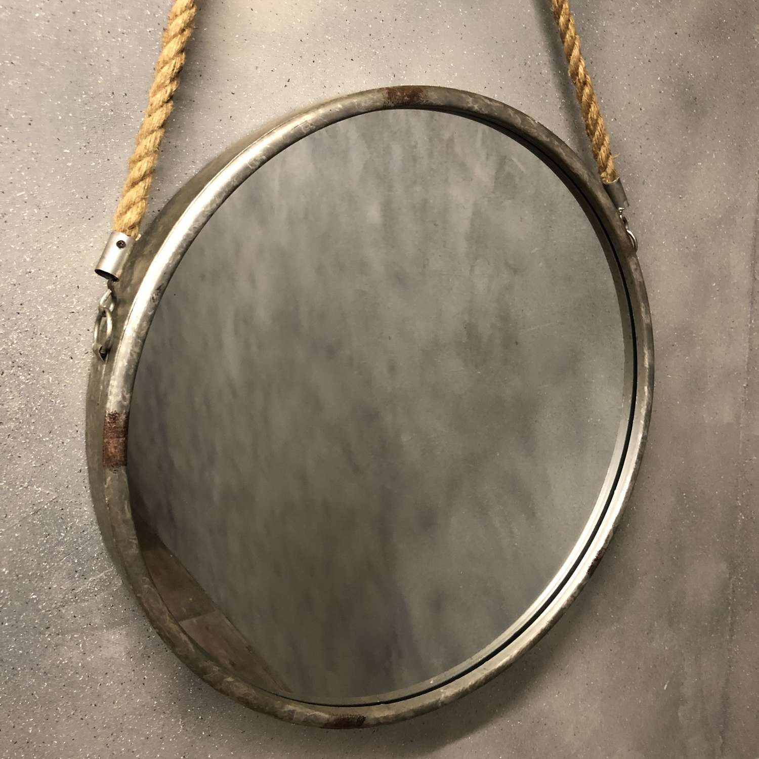 Industrial style mirror