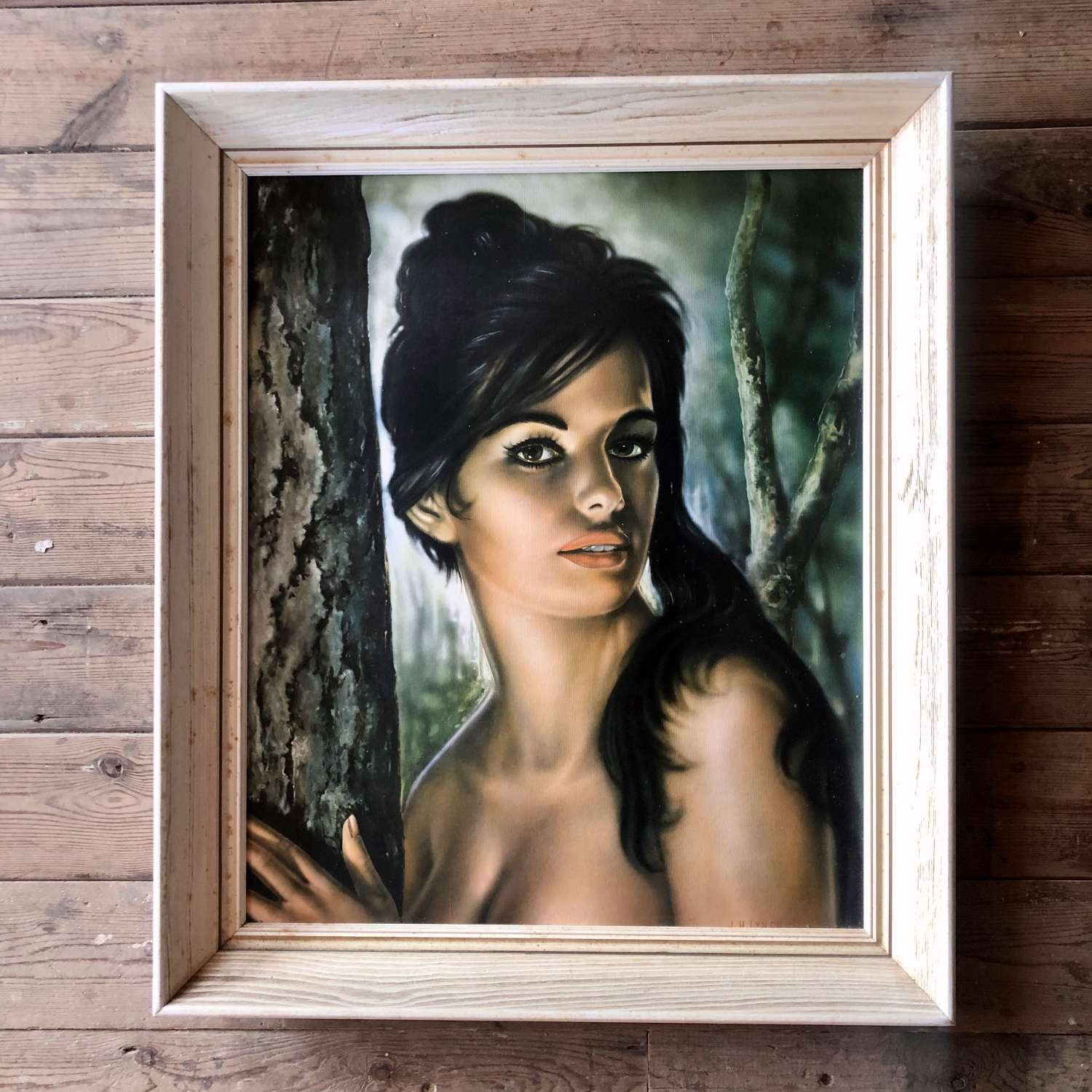Original J H Lynch 'Tina' 1960s Framed Print.