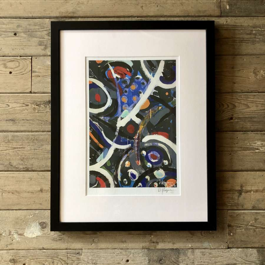 Fine Artist Dale Kerrigan Limited Edition Print Framed no 10