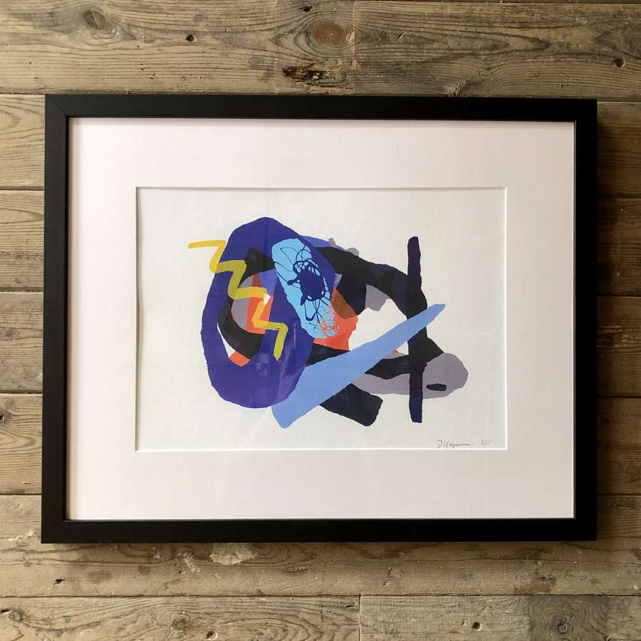 Fine Artist Dale Kerrigan Limited Edition Print Framed no 9