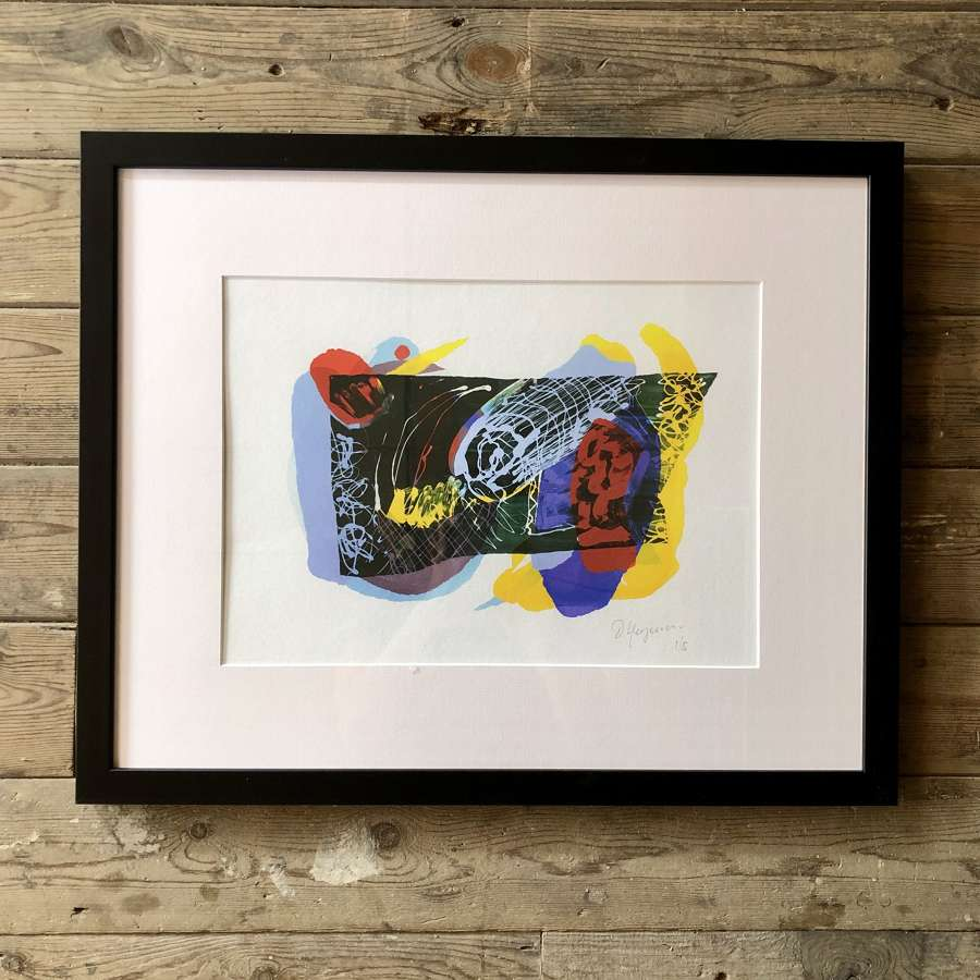 Fine Artist Dale Kerrigan Limited Edition Print Framed no 8