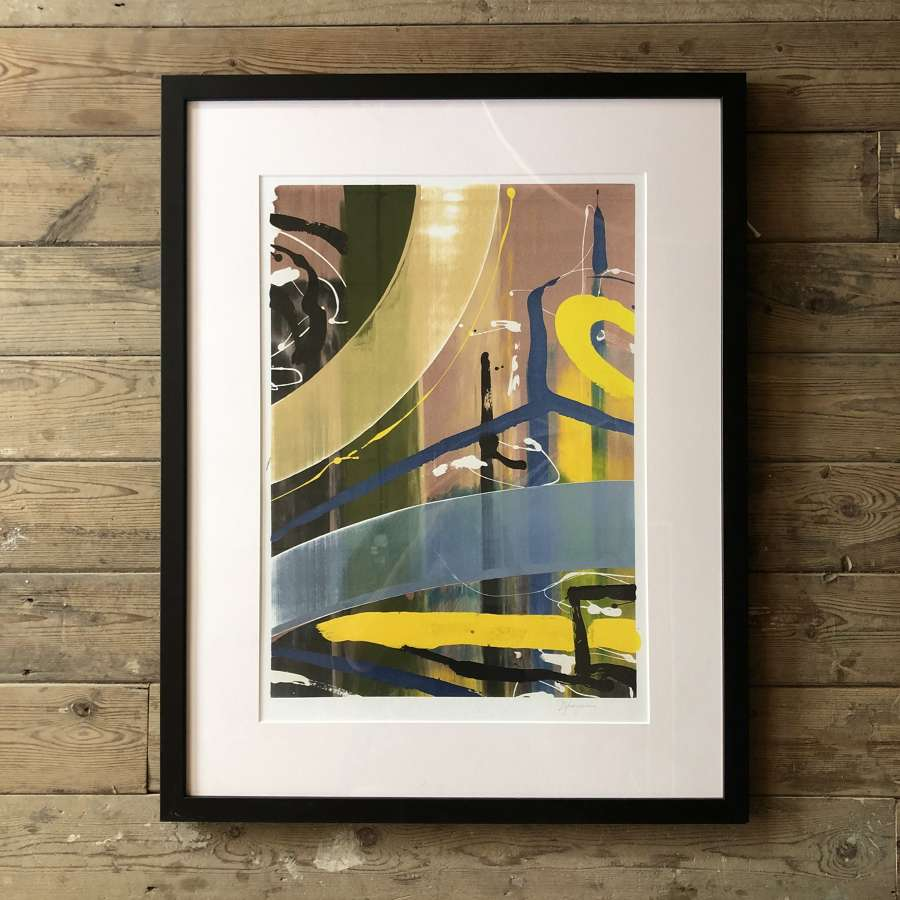 Fine Artist Dale Kerrigan Limited Edition Print Framed no 5
