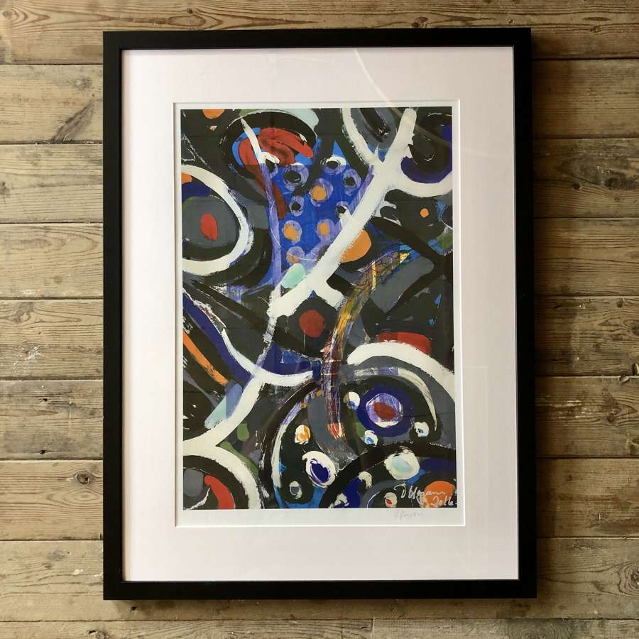Fine Artist Dale Kerrigan Limited Edition Print Framed no 2