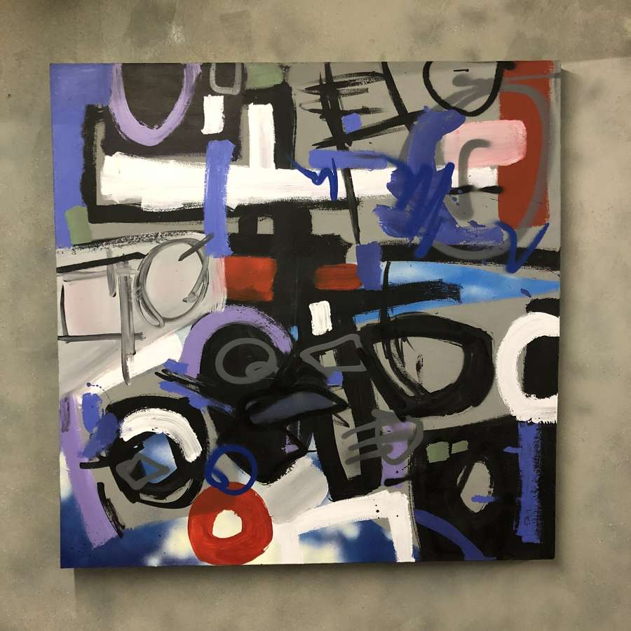 Dale Kerrigan Abstract canvas