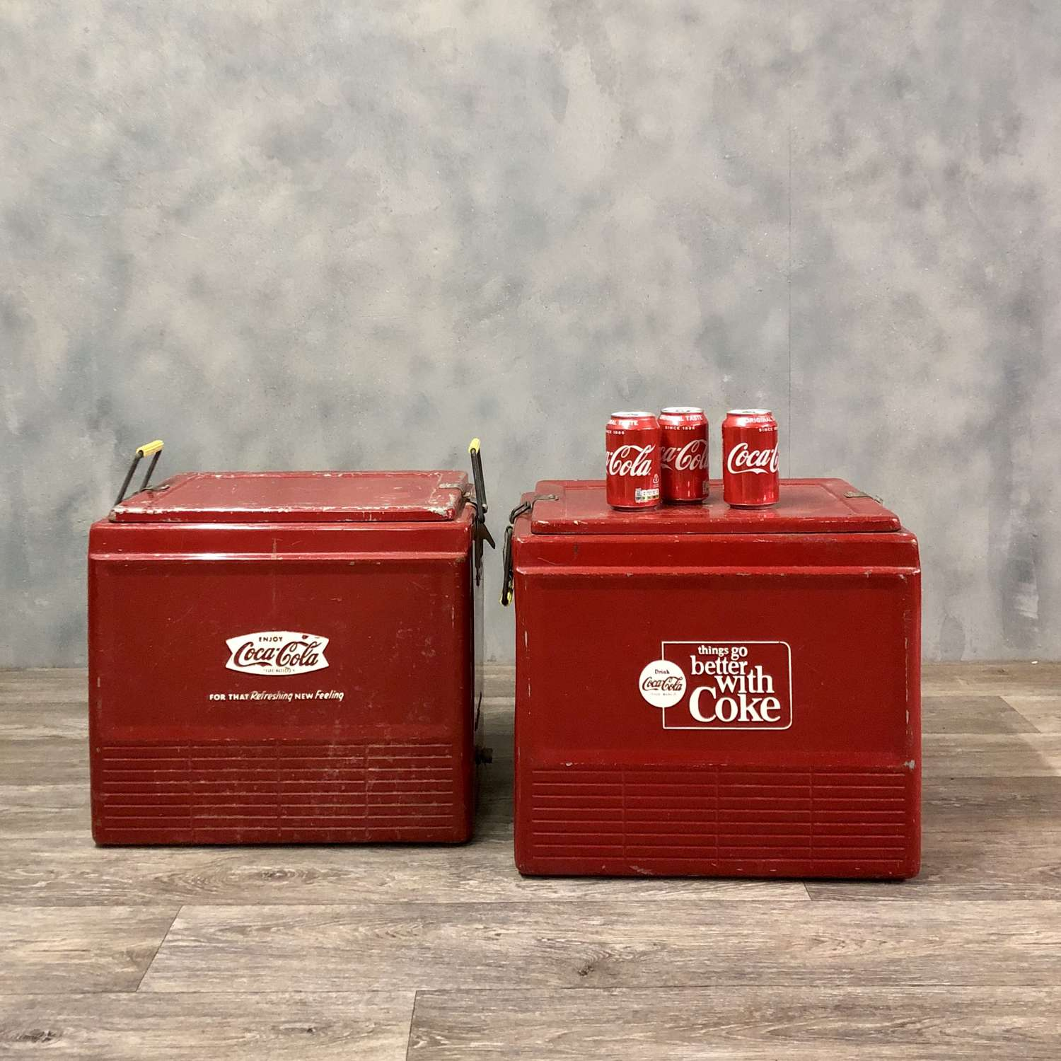 Original 1950s Coca Cola cooler