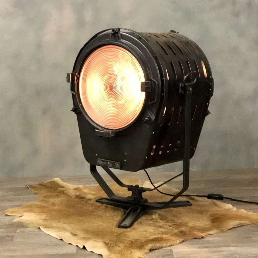 Vintage movie floor lamp