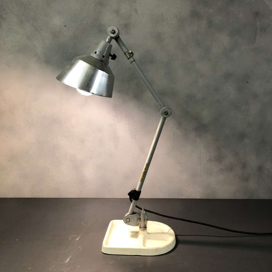 Industrial desk lamp Kurt Fischer