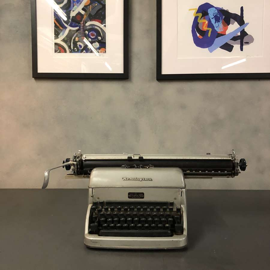 Vintage typewriter remington