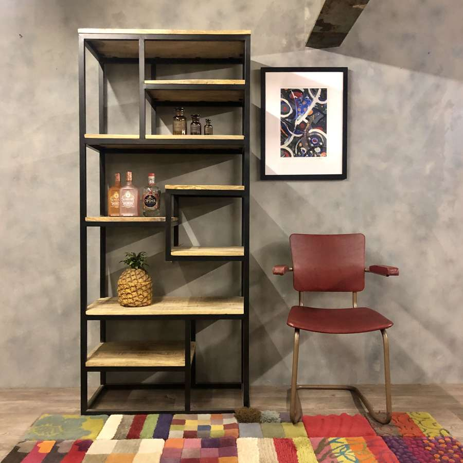 Shelving unit industrial style