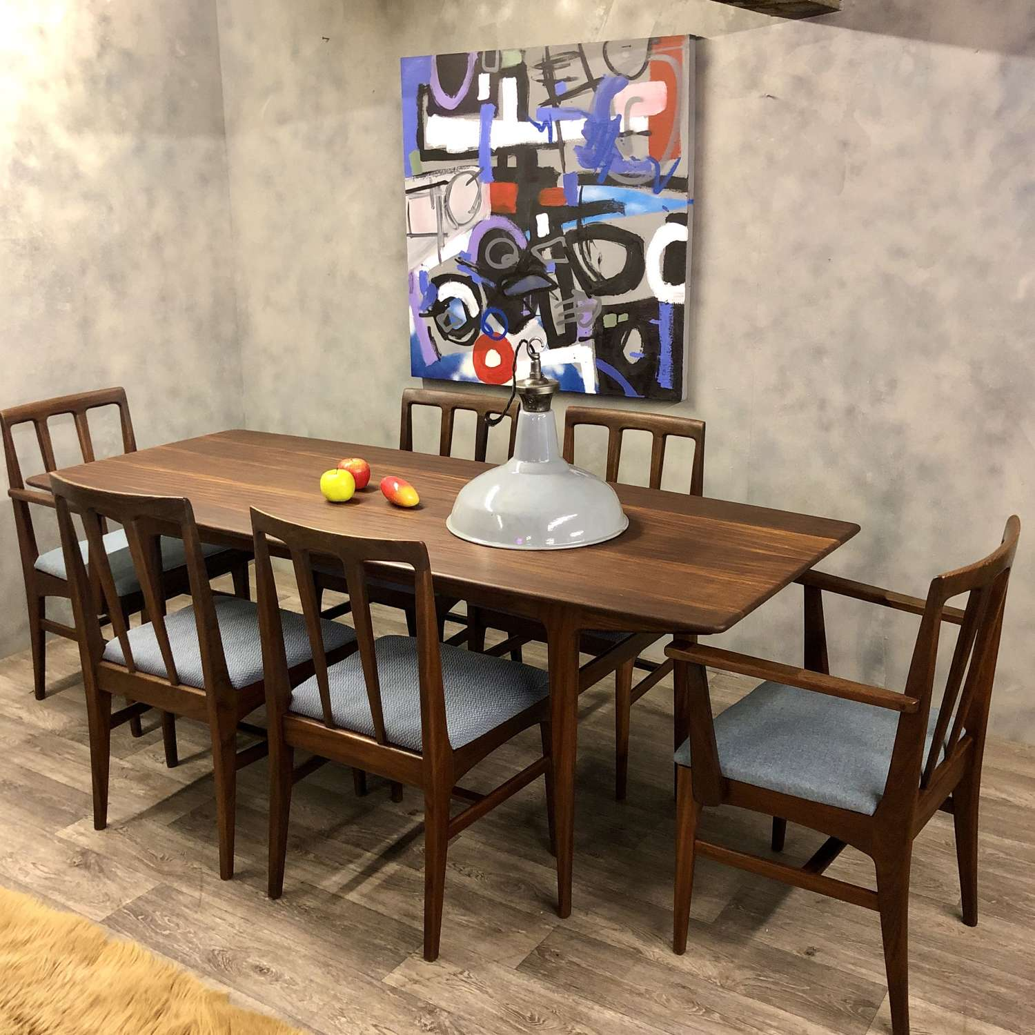 Midcentury dining table A Younger Afromosia