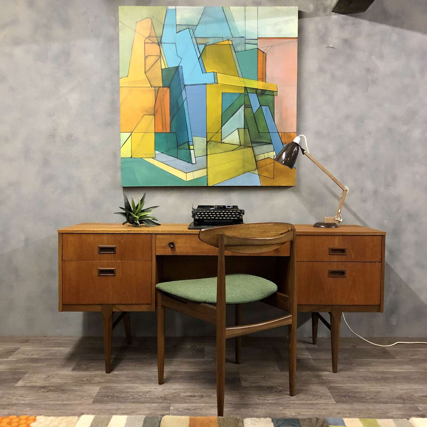 Desk by midcentury Nathan