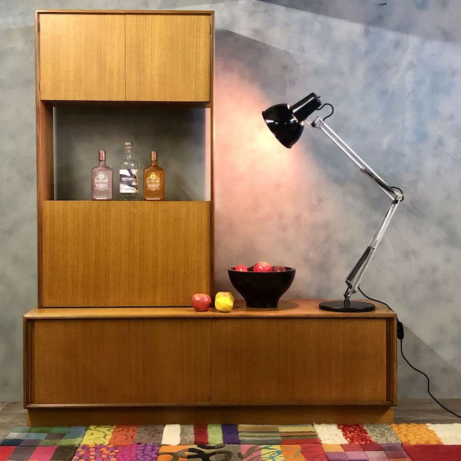 GPlan midcentury wall unit