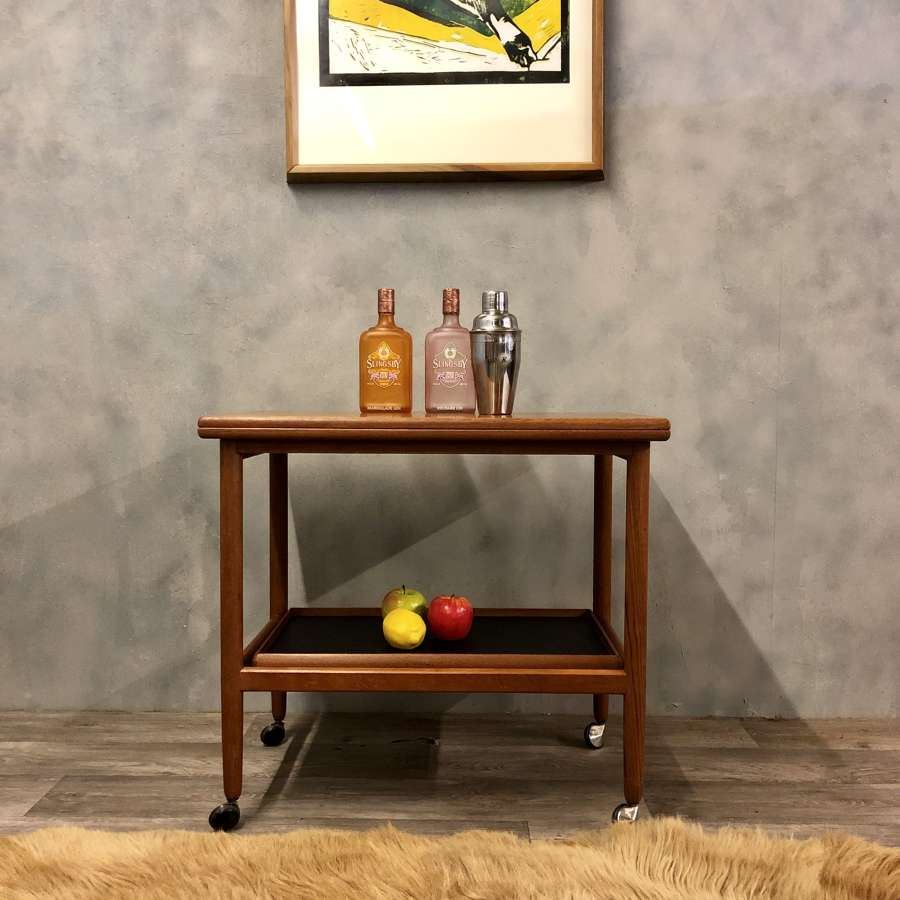 Danish bar cart