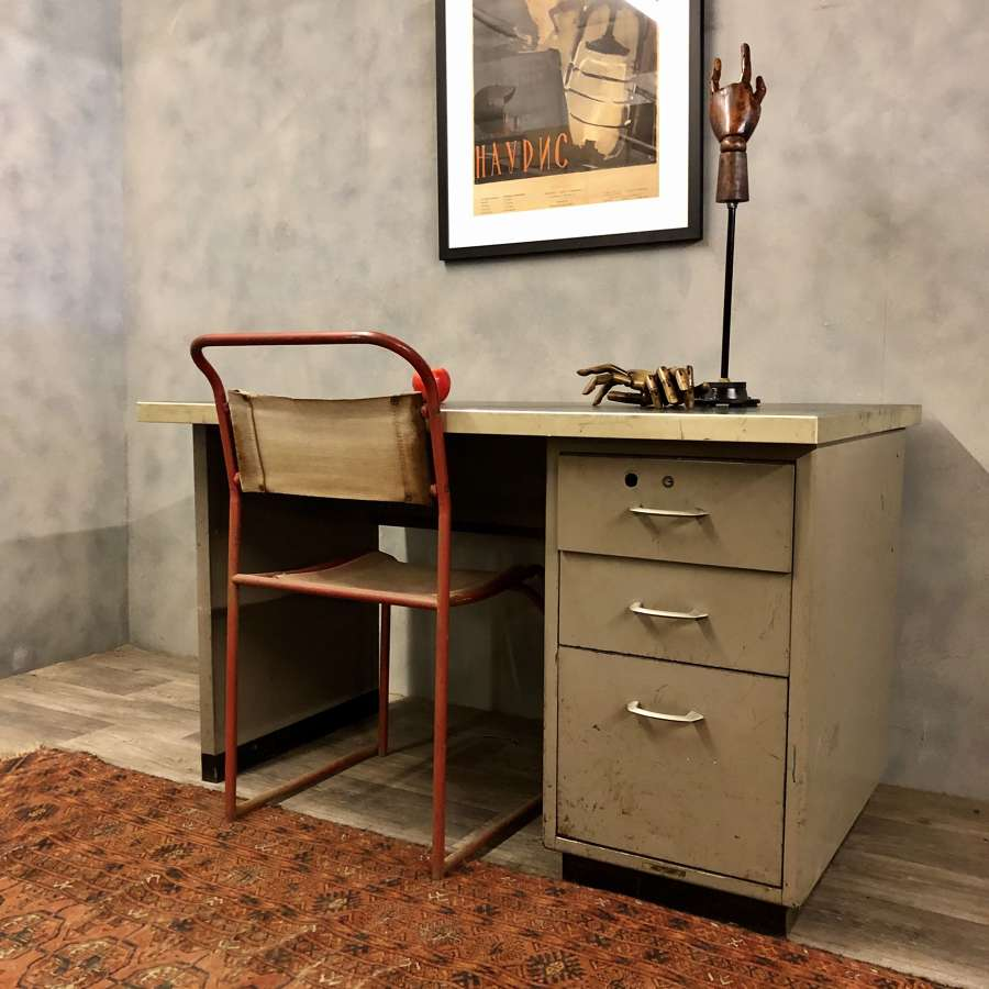 Industrial desk 1950s
