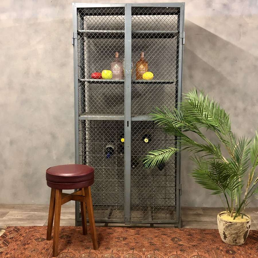 Dutch industrial wine locker