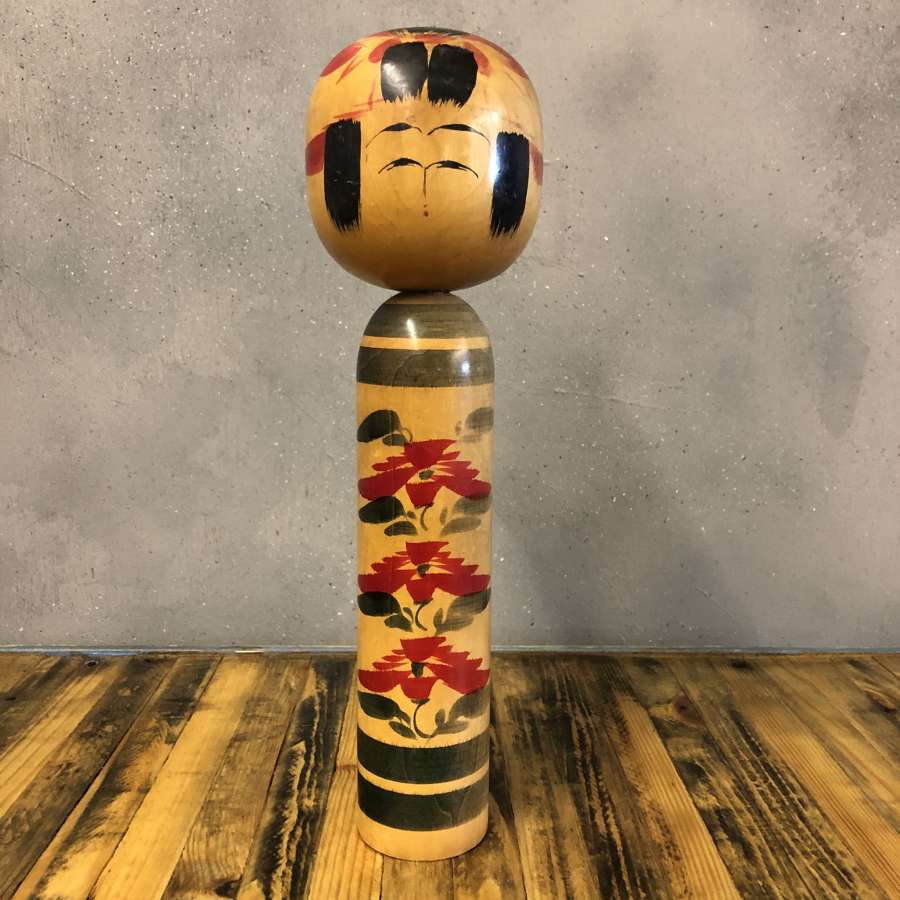 Vintage Japanese Kokeshi doll #004 LARGE*
