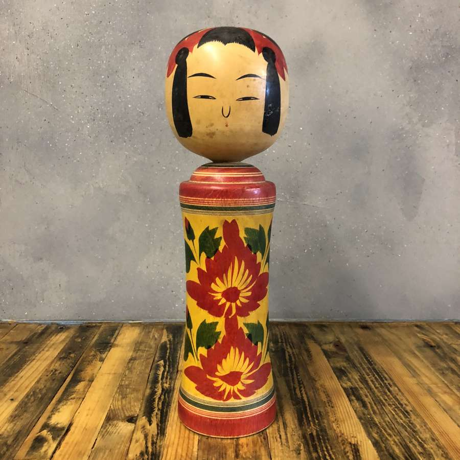 Vintage Japanese Kokeshi doll #005 LARGE*