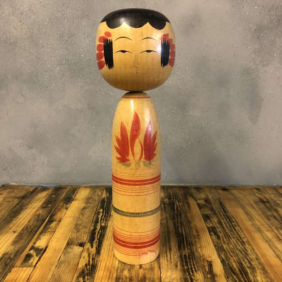 Vintage Japanese Kokeshi doll #007 LARGE*