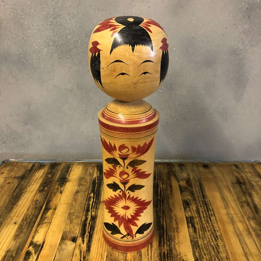 Vintage Japanese Kokeshi doll #012 LARGE*
