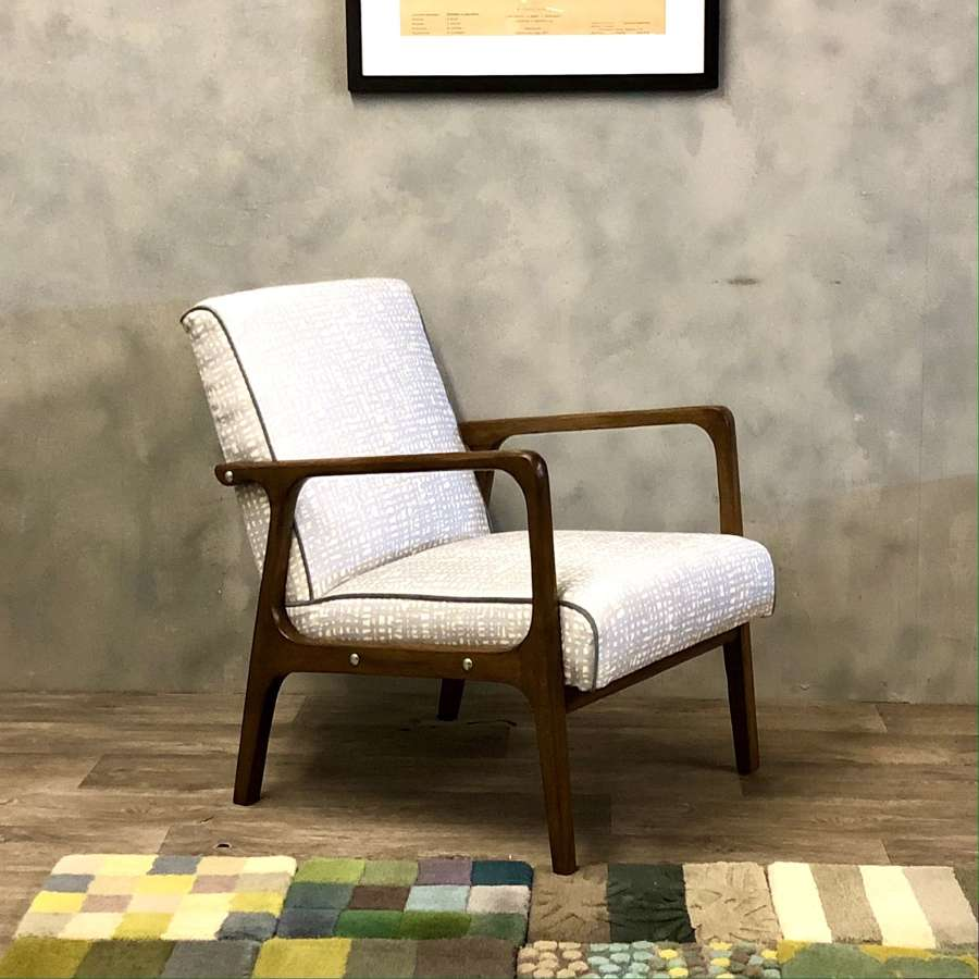 Midcentury Danish lounge chair