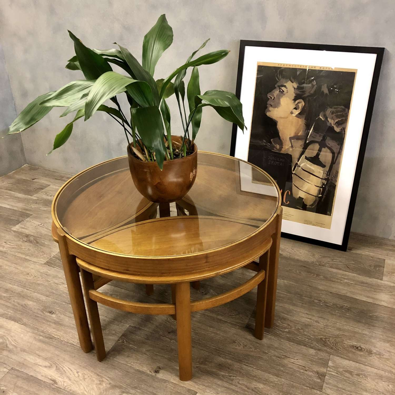 Midcentury Nathan coffee table
