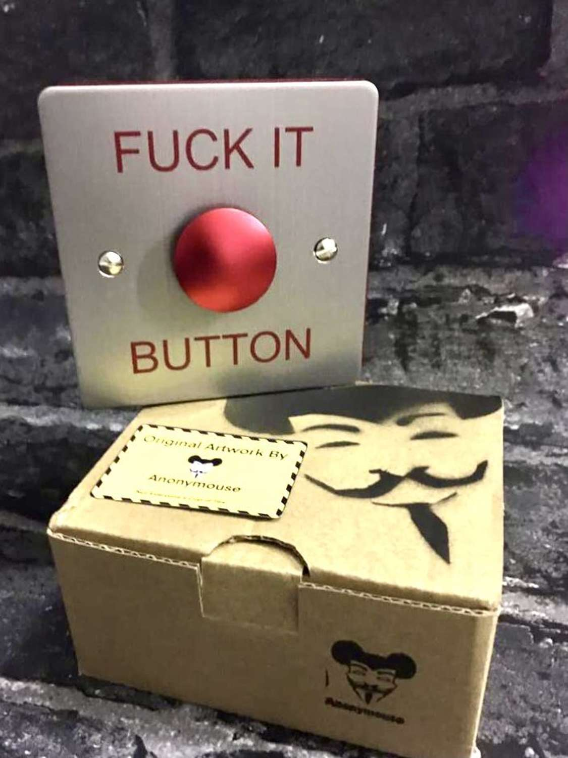 FUCK IT BUTTON (POSTAL ONLY*)