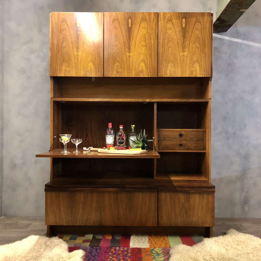 Archie Shine wall unit midcentury