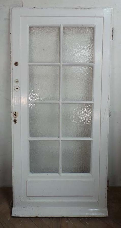 DE0605 ORIGINAL EDWARDIAN PINE GLAZED DOOR