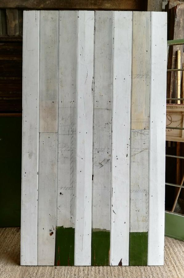 M1291 RECLAIMED PINE TONGUE AND GROOVE PANELING SOLD PER SQM