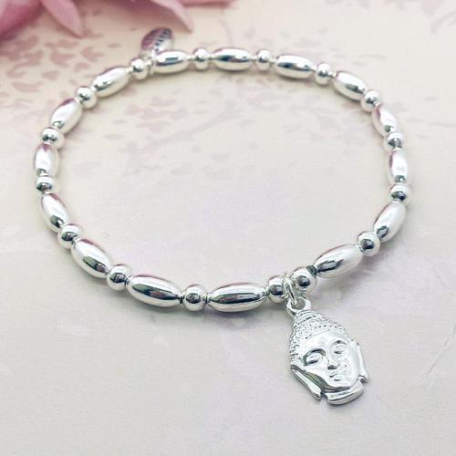 Buddha Charm Stacking Bracelet
