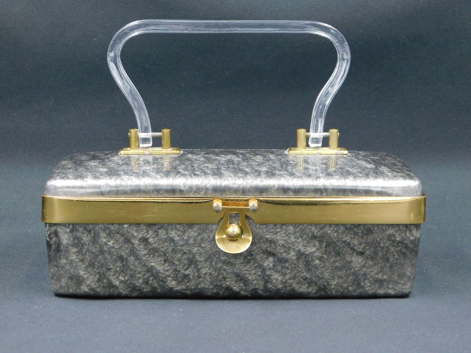 Dorset Rex Fifth Avenue Lucite Bag