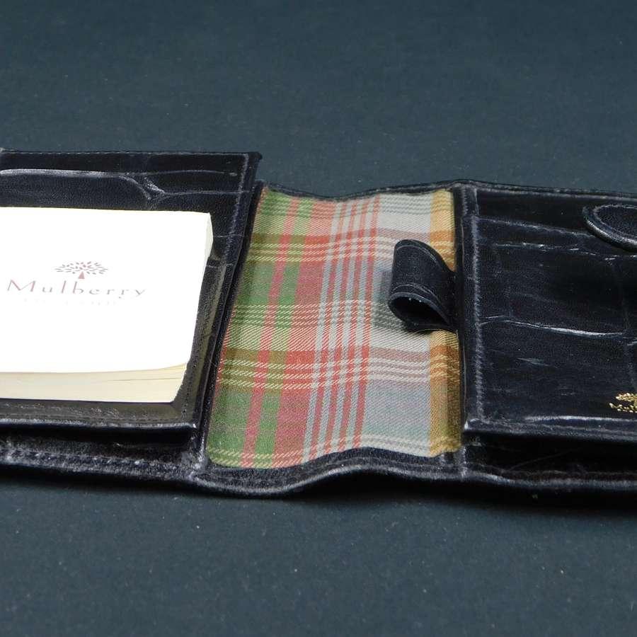 Mulberry Mini Notebook/Aide Memoire