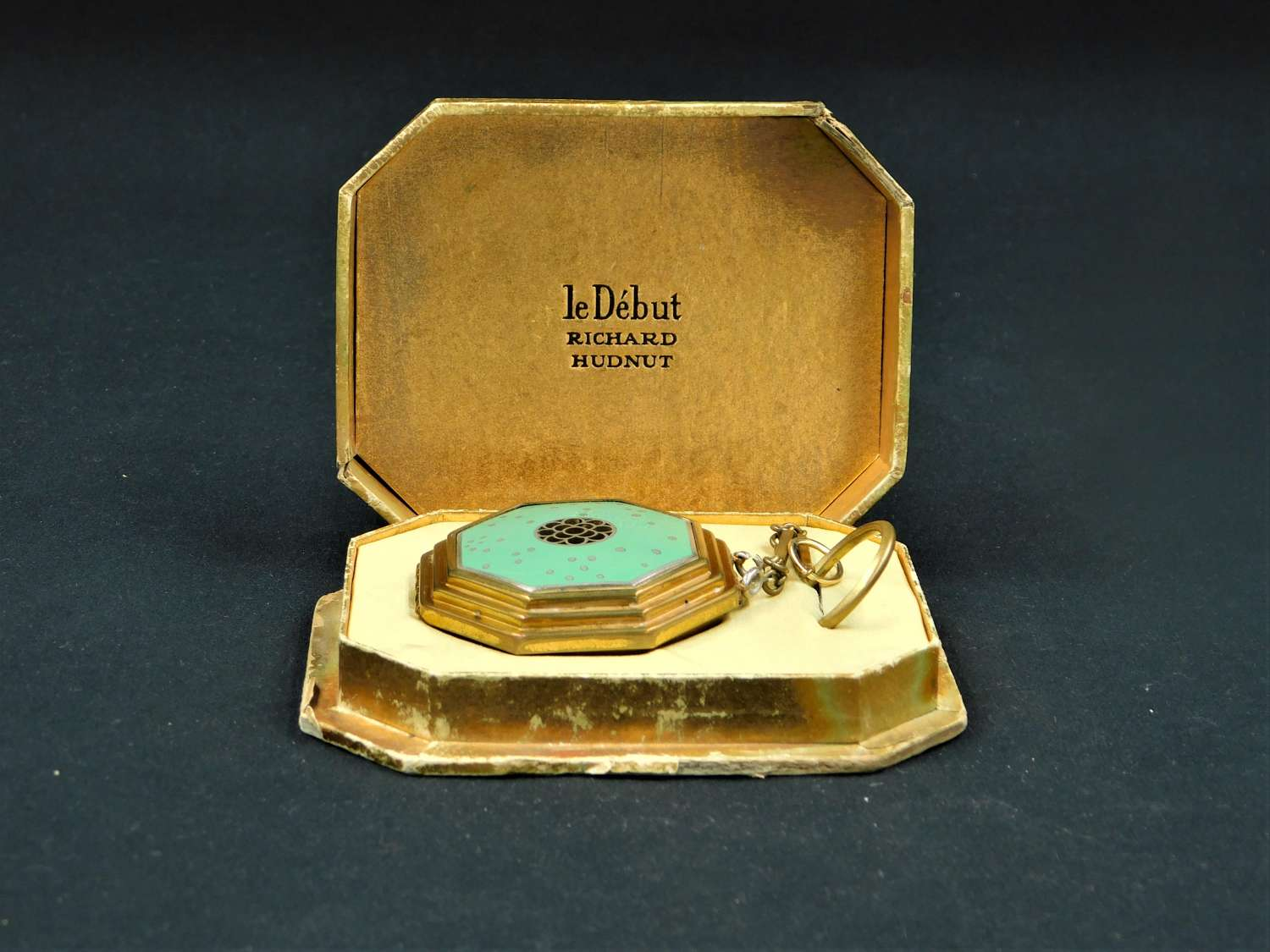 Art Deco Richard Hudnut 'Le Debut' Compact