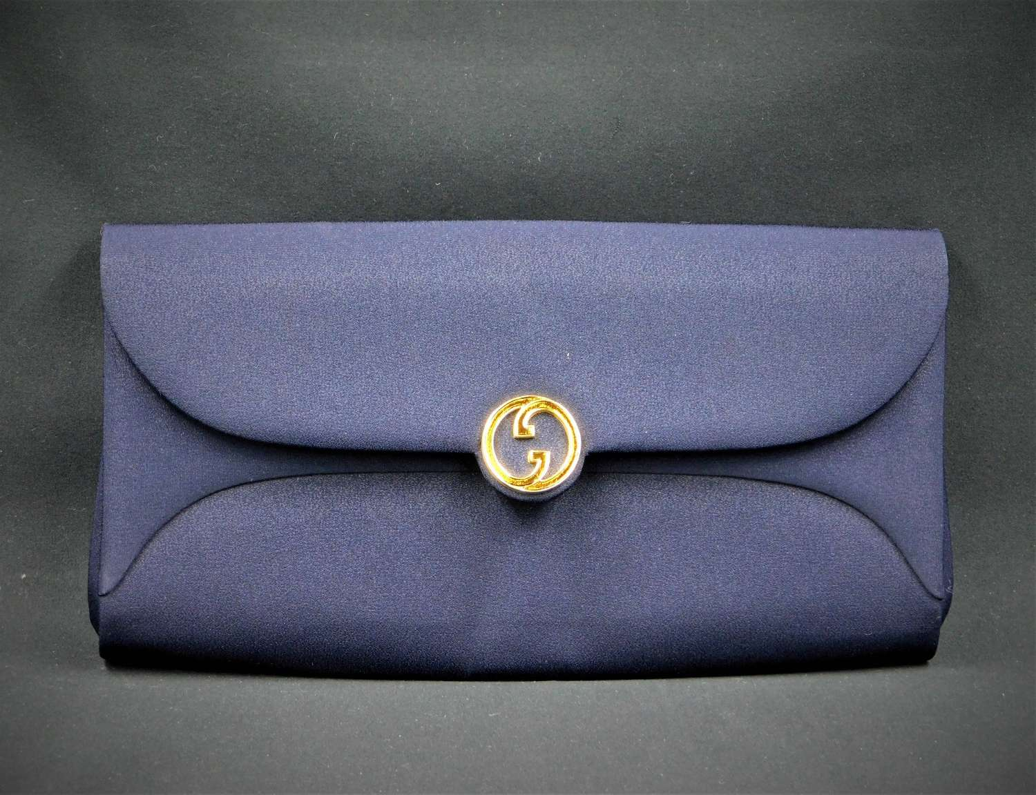 Vintage Gucci Fabric Clutch Bag