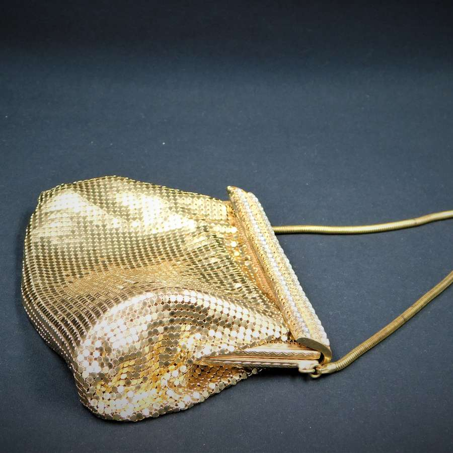 1950's Mesh and Diamante Bag
