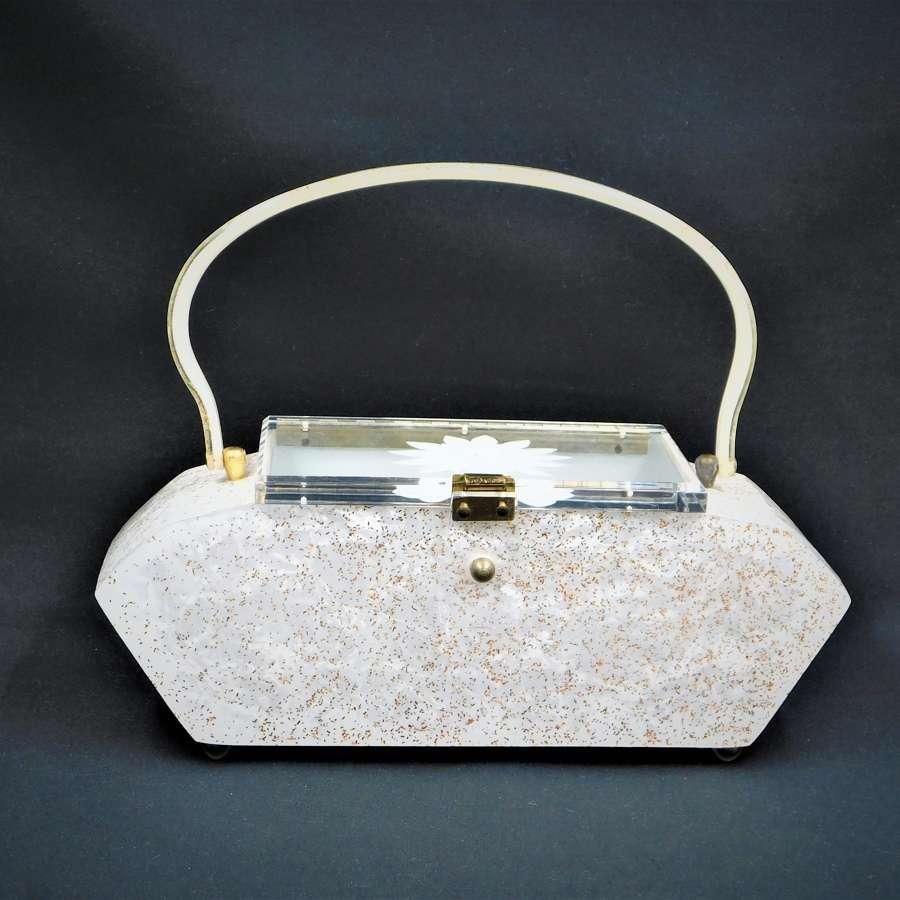 Pearl Lucite Bag