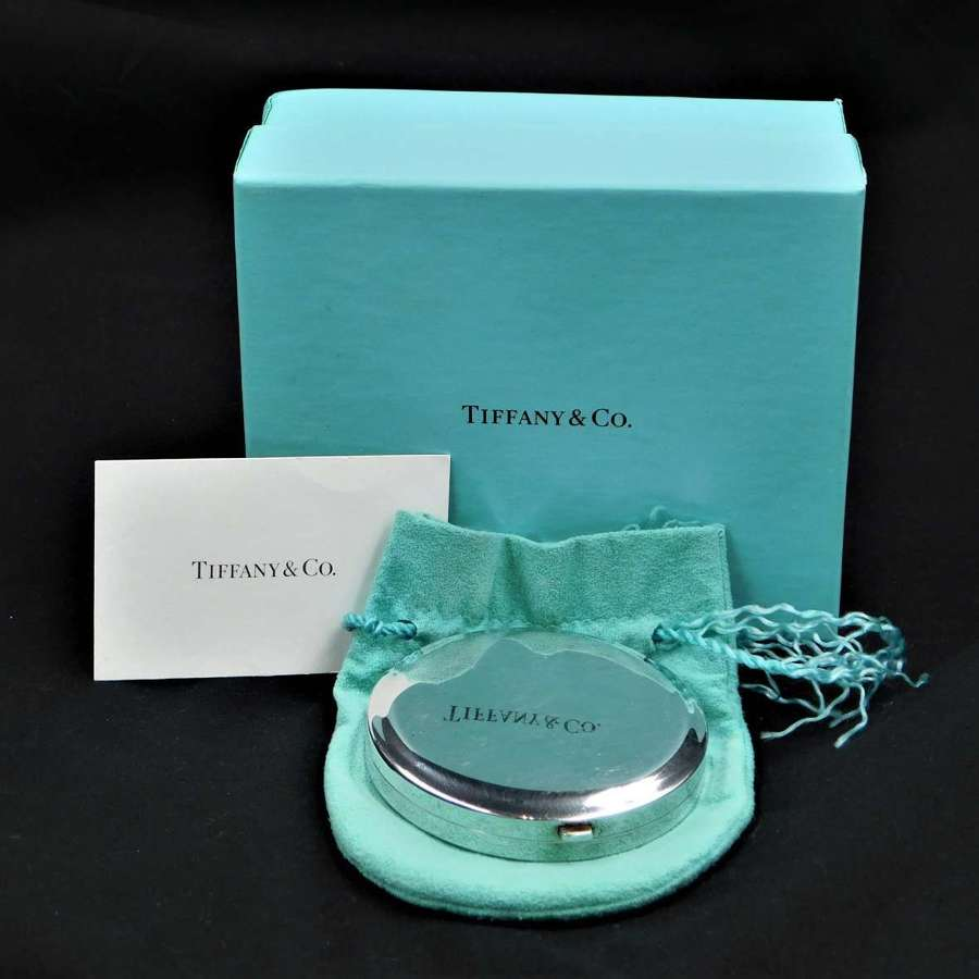 Tiffany & Co Silver 925 Powder Compact