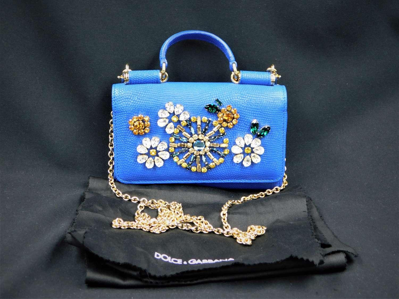 Dolce and Gabbana Mini Sicily Phone Case Bag