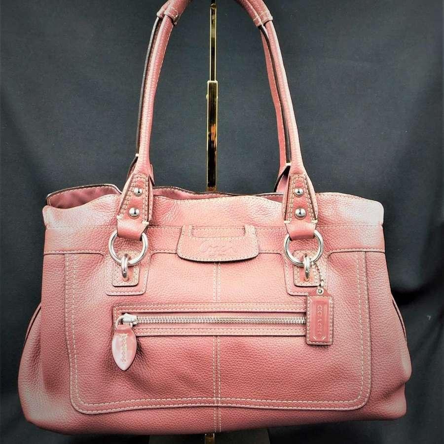 Coach 'Penelope' Pebbled Leather Handbag - unused.