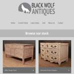 Black Wolf Antiques - Website Updated!