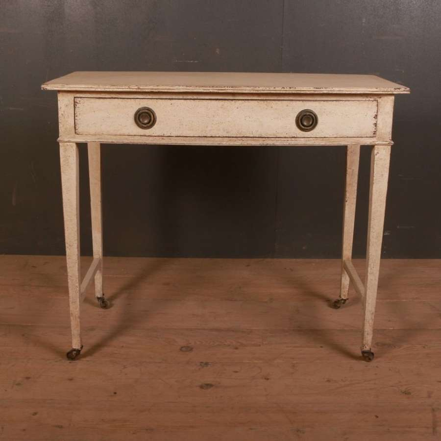 English Bowfront Table