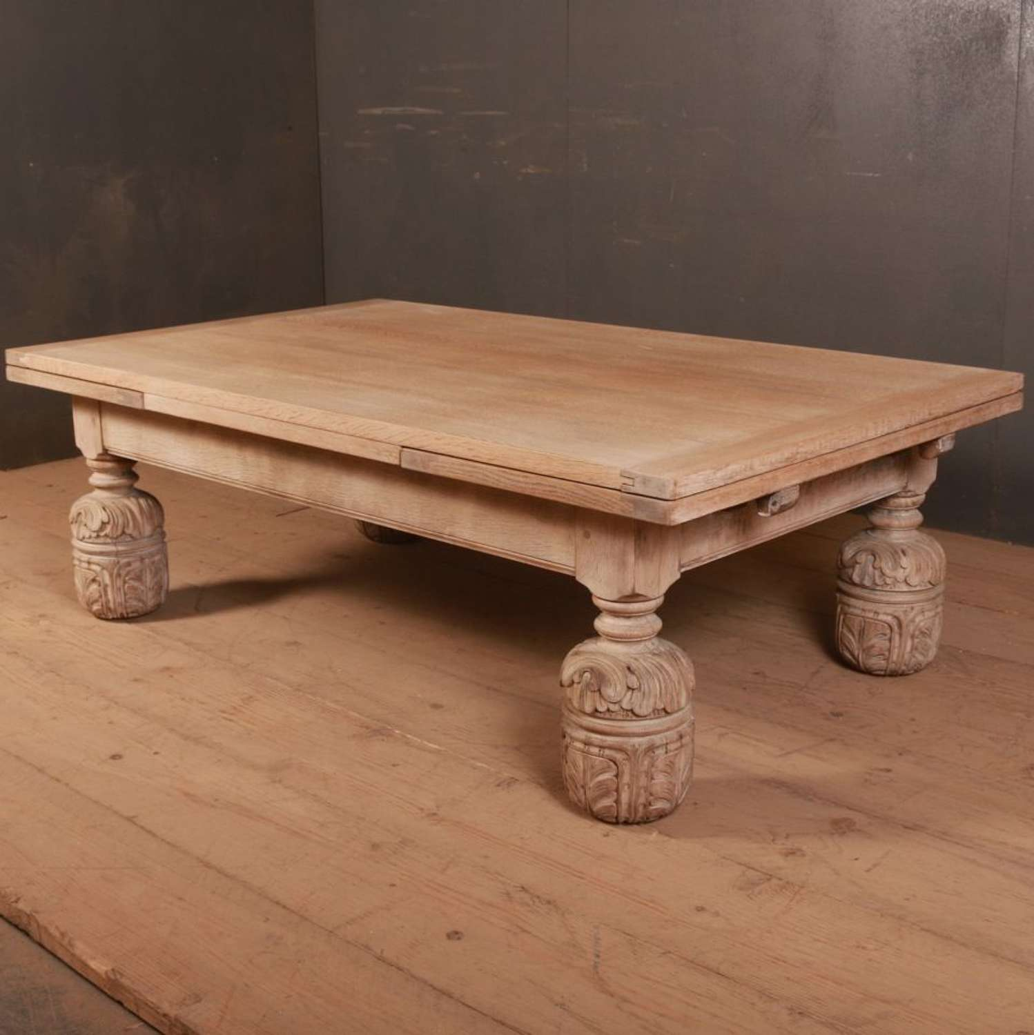 English Bleached Oak Coffee Table