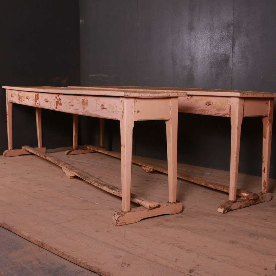 Original Painted Serving Tables