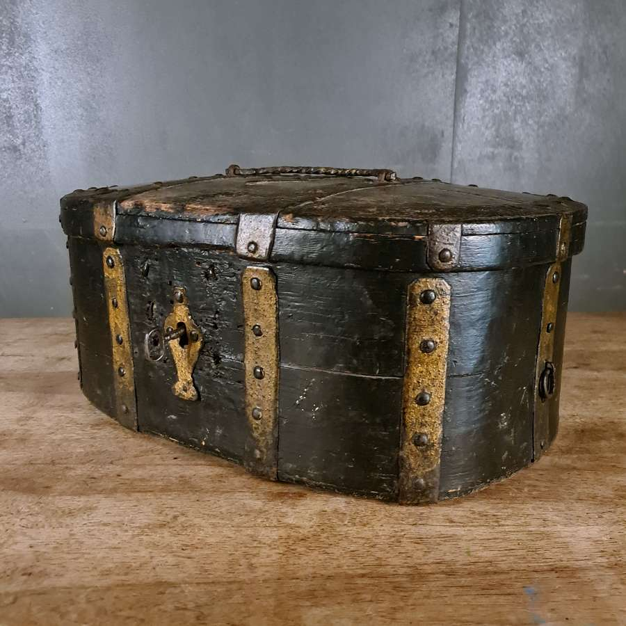 Swedish Iron Bound Travel Box