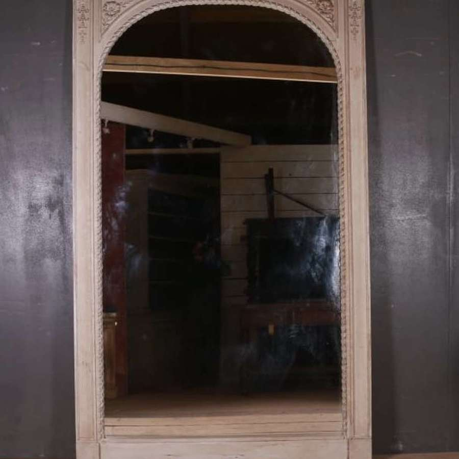 19th Century French Chateau Mirror