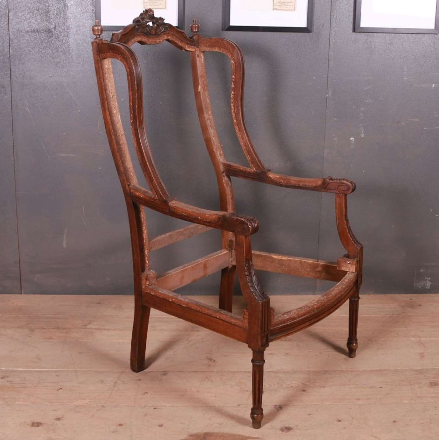 French Armchair Frame