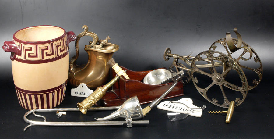 Miscellaneous antique wine accessories